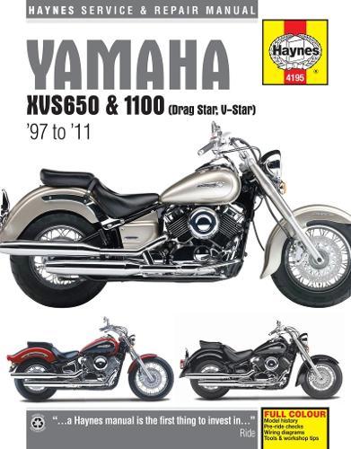 Yamaha Xvs650 & 1100 Drag Star/V-Star (97 - 11) (Paperback)
