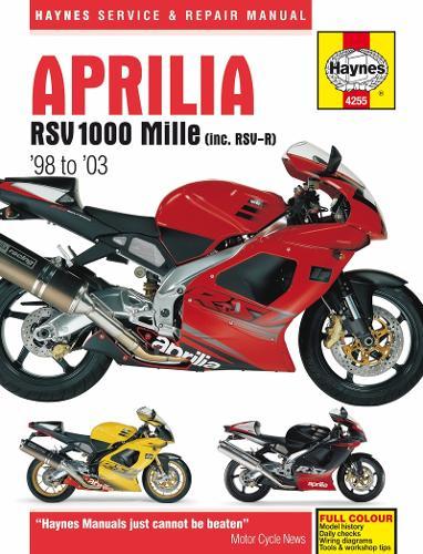 Aprilia Rsv1000 Mille: 98-03 (Paperback)