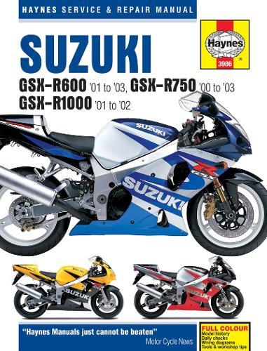 Suzuki GSX-R600, R750 & R1000 (Paperback)