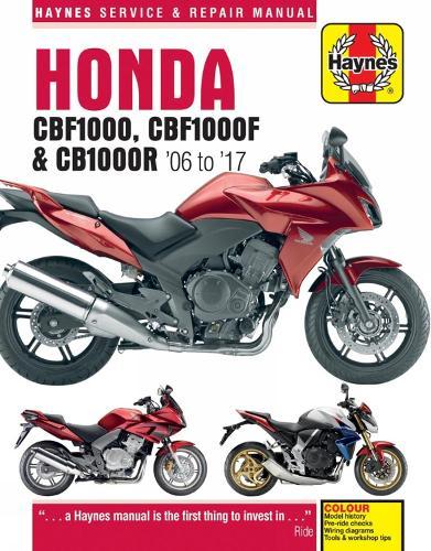 Honda CBF1000 & CB1000R Update (4927) ('06 To '16) (Paperback)