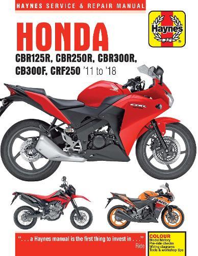 Honda CBR125R, CBR250R, CBR300R, CB300F & CRF250 (11-18) (Paperback)