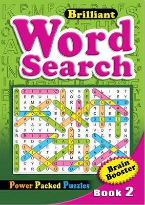 Brilliant Word Search Book 2: Activity Book (Paperback)