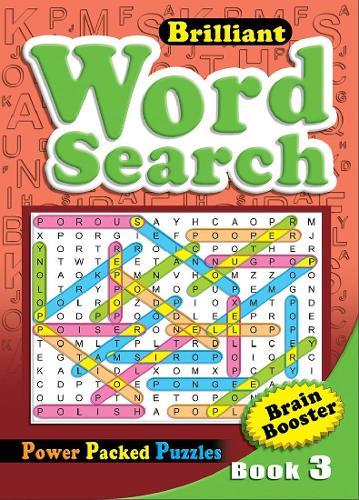 Brilliant Word Search Book 3: Activity Book (Paperback)