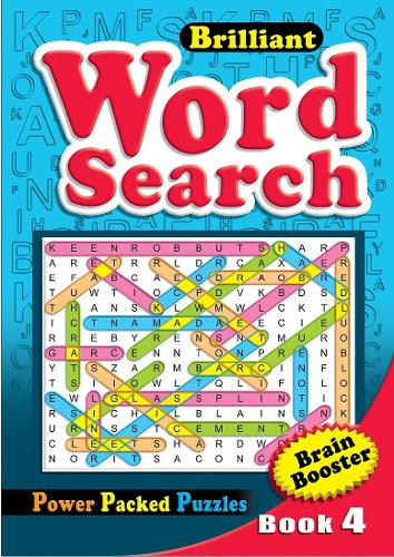 Brilliant Word Search Book 4: Activity Book (Paperback)