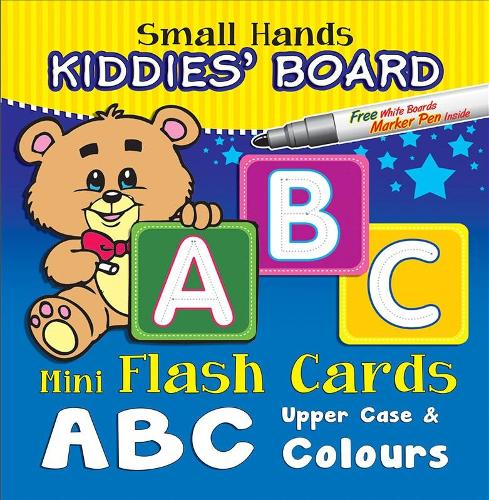 Small Hands Kiddies' Board ABC Upper Case & Colours: Mini Flash Cards