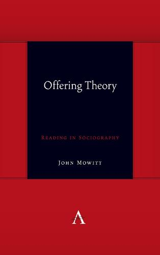 Offering Theory: Reading in Sociography - Anthem symploke Studies in Theory (Hardback)
