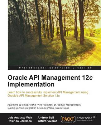 Oracle API Management 12c Implementation (Paperback)