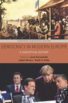 Democracy in Modern Europe: A Conceptual History - European Conceptual History 5 (Hardback)