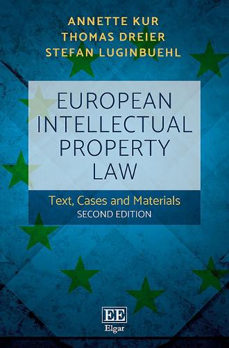 European Intellectual Property Law: Text, Cases and Materials (Paperback)