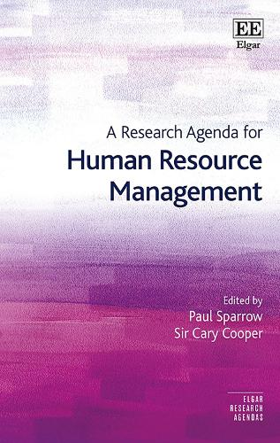 A Research Agenda for Human Resource Management - Elgar Research Agendas (Paperback)