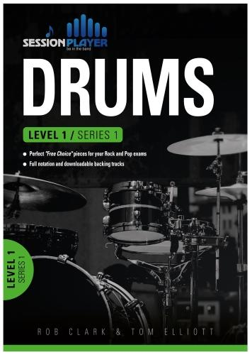 Session Player Drums - Level 1 (Paperback)