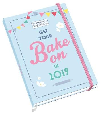 Great British Bake Off A5 Official 2019 Diary - A5 Diary Format (Diary)