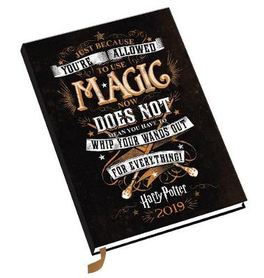 Harry Potter A5 Official 2019 Diary - A5 Diary Format (Diary)