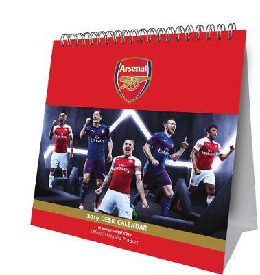 Arsenal Desk Easel Official 2019 Calendar - Desk Easel Format (Calendar)