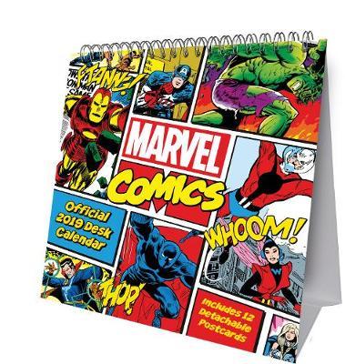 Marvel Comics Desk Easel Official 2019 Calendar - Desk Easel Format (Calendar)