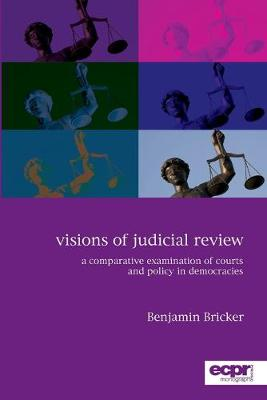 Visions of Judicial Review: A Comparative Examination of Courts and Policy in Democracies (Paperback)