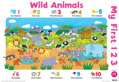 My First 123 Animals (Wallchart)