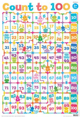 Wallchart Toddler Learning Count to 100 (Wallchart)