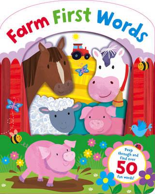 Farm First Words (Board book)
