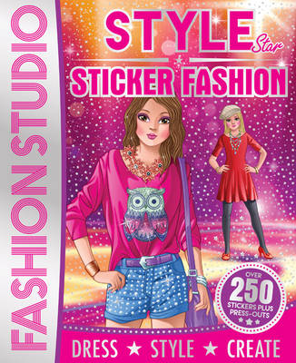 Style Sticker Fashion Designer (Paperback)