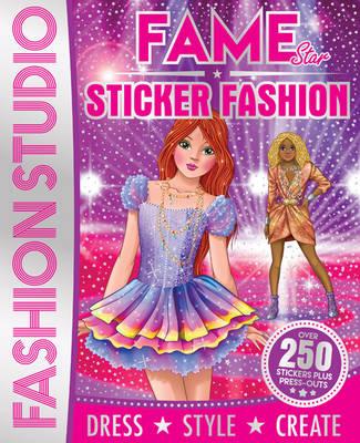 Pop Star Sticker Fashion Designer (Paperback)