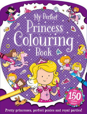 Pretty Princesses - Shaped Sticker Dolly Dressing (Paperback)