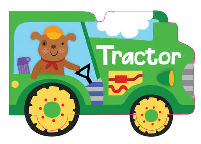 Tractor - Vehicle Boards (Board book)