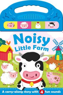 Busy Farm - Sticker & Activity Colour By Numbers (Board book)