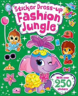 Wild Jungle - Sticker & Activity Colour By Numbers (Paperback)