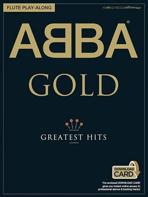 ABBA: Gold - Flute Play-Along (Book/Audio Download) (Paperback)