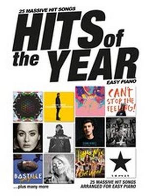 Hits Of The Year 2016: Easy Piano (Paperback)