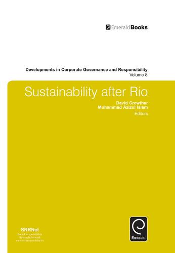 Sustainability after Rio - Developments in Corporate Governance and Responsibility 8 (Hardback)