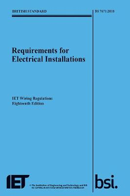 requirements for electrical installations iet wiring regulations rh waterstones com IEE Wiring Regulations PDF Electrical Regulations 17th Edition