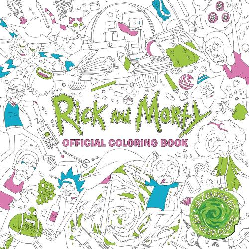 Rick And Morty Official Coloring Book Paperback