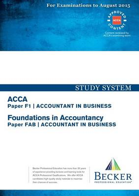 f1 accountant in business Size: 18 mb android revision software for acca f1 exam (2018 exam syllabus) over 440 unique questions covering multiple choice, true/false and missing item format correct answers provided for each test.