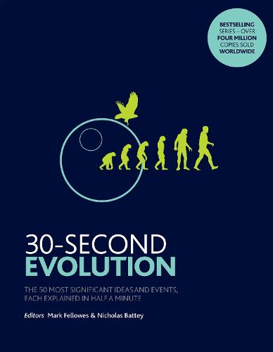 30-Second Evolution: The 50 most significant ideas and events, each explained in half a minute (Paperback)