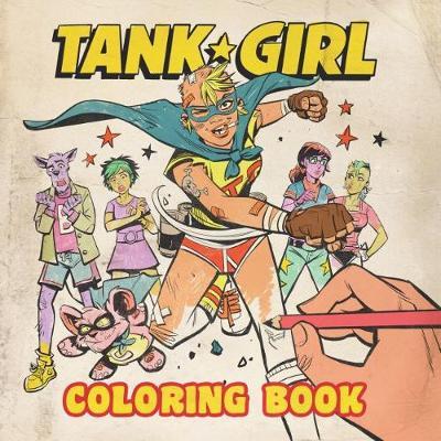 Tank Girl Coloring Book (Paperback)