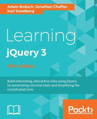 Learning jQuery 3 - Fifth Edition (Paperback)