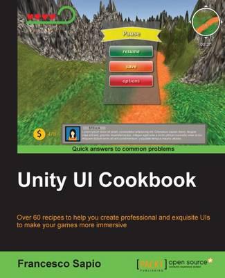 Unity UI Cookbook (Paperback)