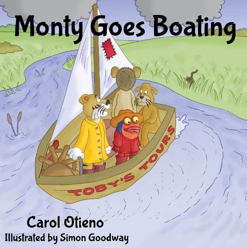 Monty Goes Boating (Paperback)
