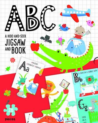 ABC: A Hide-and-Seek Jigsaw and Book (Paperback)