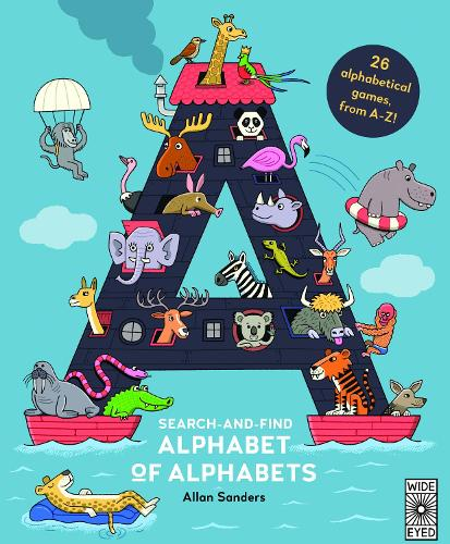 Search and Find Alphabet of Alphabets (Hardback)