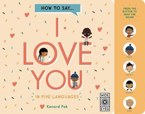 How to Say I Love You in 5 Languages (Board book)