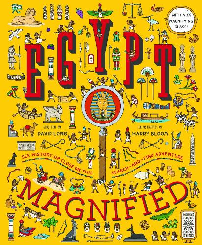Egypt Magnified: With a 3x Magnifying Glass (Hardback)
