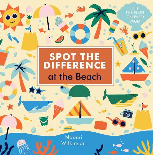 Spot the Difference: At the Beach - Spot the Difference (Board book)