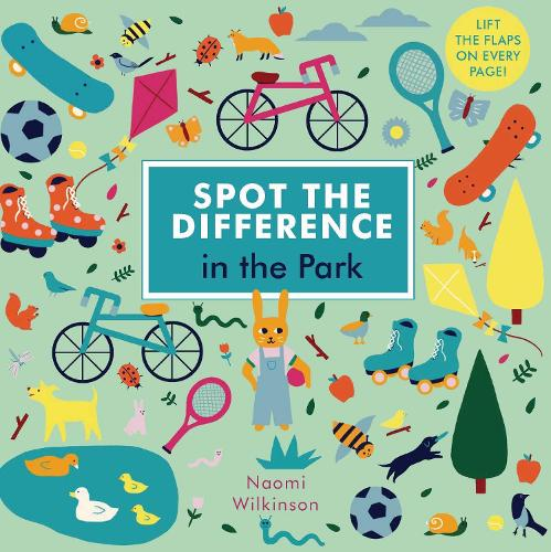 Spot the Difference: In the Park - Spot the Difference (Board book)