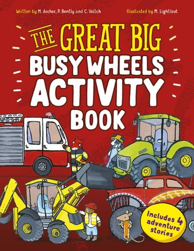 The Great Big Busy Wheels Activity Book: Includes 4 Adventure Stories (Paperback)