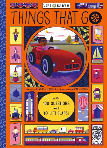 Life on Earth: Things That Go - Life on Earth (Board book)
