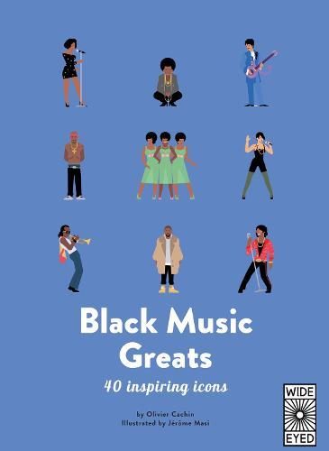 40 Inspiring Icons: Black Music Greats - 40 Inspiring Icons (Hardback)