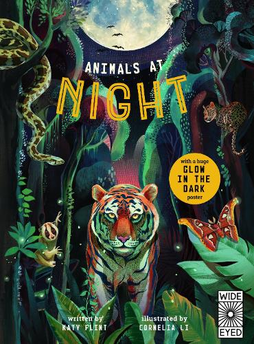 Glow in the Dark: Animals at Night - Glow in the Dark (Hardback)
